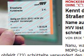 hvv fahrkarte